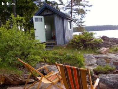 Cottage by the lake Mjörn,