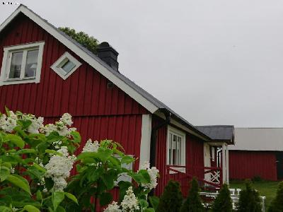 Charming Swedish red house.