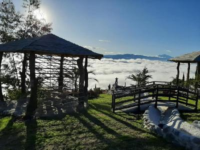 Home in the clouds in Ecuador