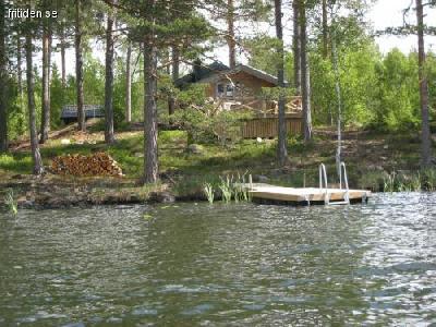 hyra stuga med bastu vid sjö