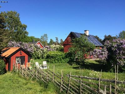 A welcoming cottage in Eksta