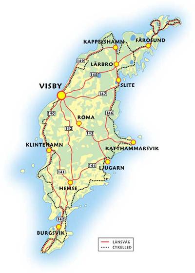 karta tofta gotland Gotland is Sweden's summer paradise   fritiden.se karta tofta gotland
